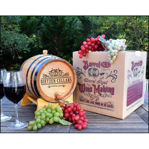 Personalized Barrel XL™ Barrel Aged Cabernet Wine Making Kit