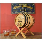 Classic Label Personalized Oak Barrel