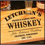 Bistro Tray Whiskey Design Personalized