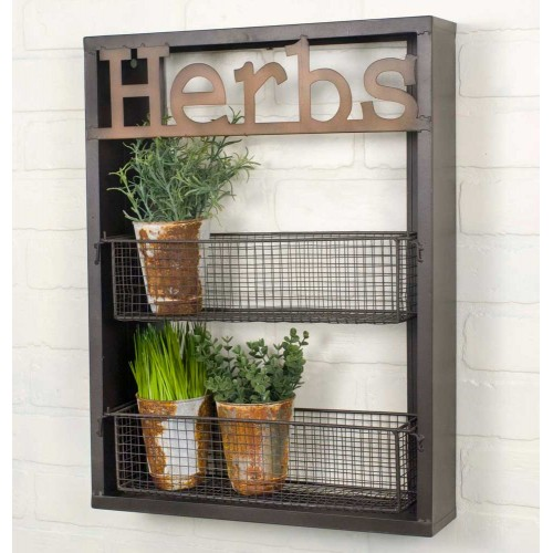 Herbs Wall Shelf