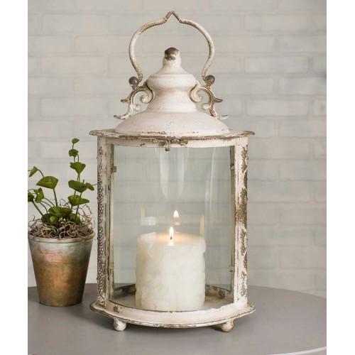 Ivory Oval Lantern