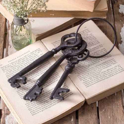 Cast Iron Skeleton Key Set