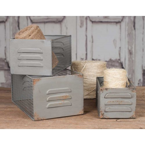 Locker Bin Set of Three Sizes