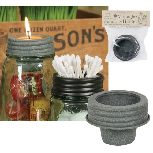 Mason Jar Tapered Cup Lid Set - Barn Roof