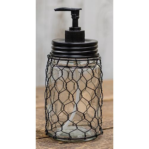 Chicken Wire Soap DIspenser