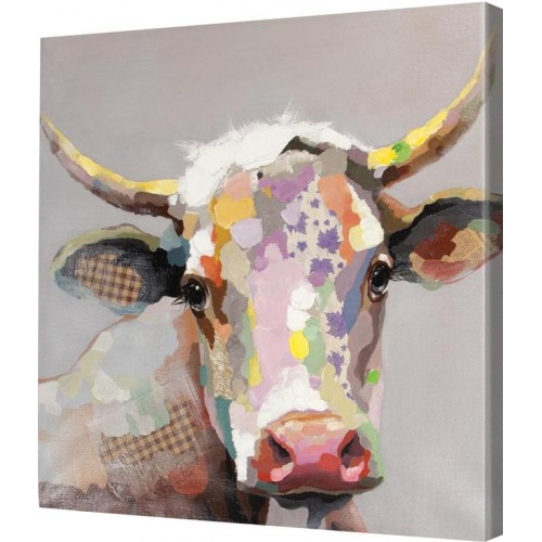Bob The Steer Canvas Art