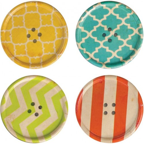 Buttons Coaster Set