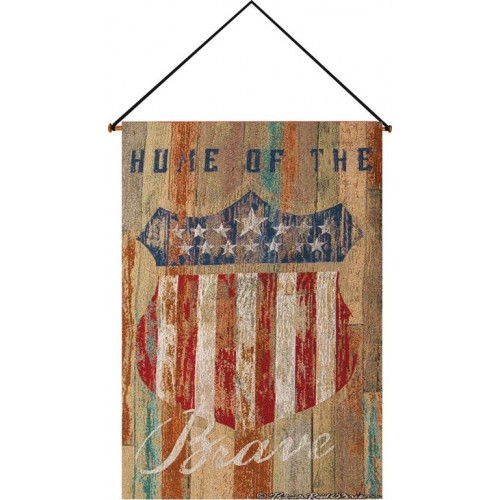 Home of the Brave Wall Hanging