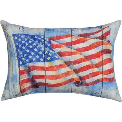 Stars And Stripes Forever Pillow