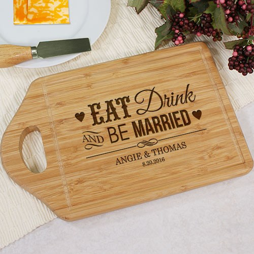 Be Married Chef Carving Board Engraved