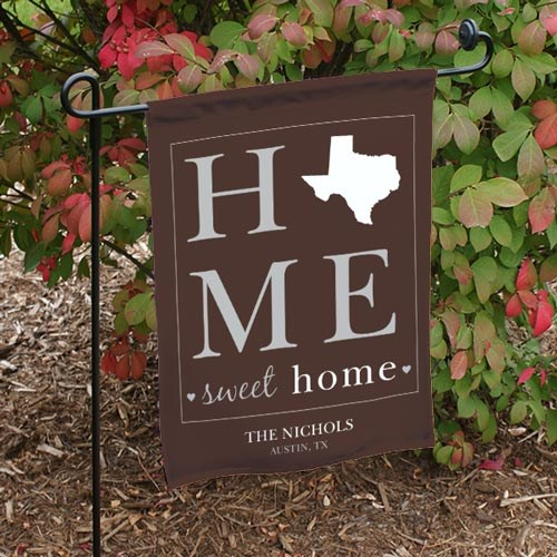 Home Sweet Home Personalized Flag