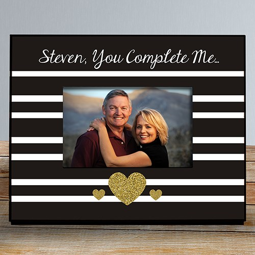 You Complete Me Personalized Frame